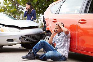 Man Calls His Lawyer After Experiencing a Car Crash
