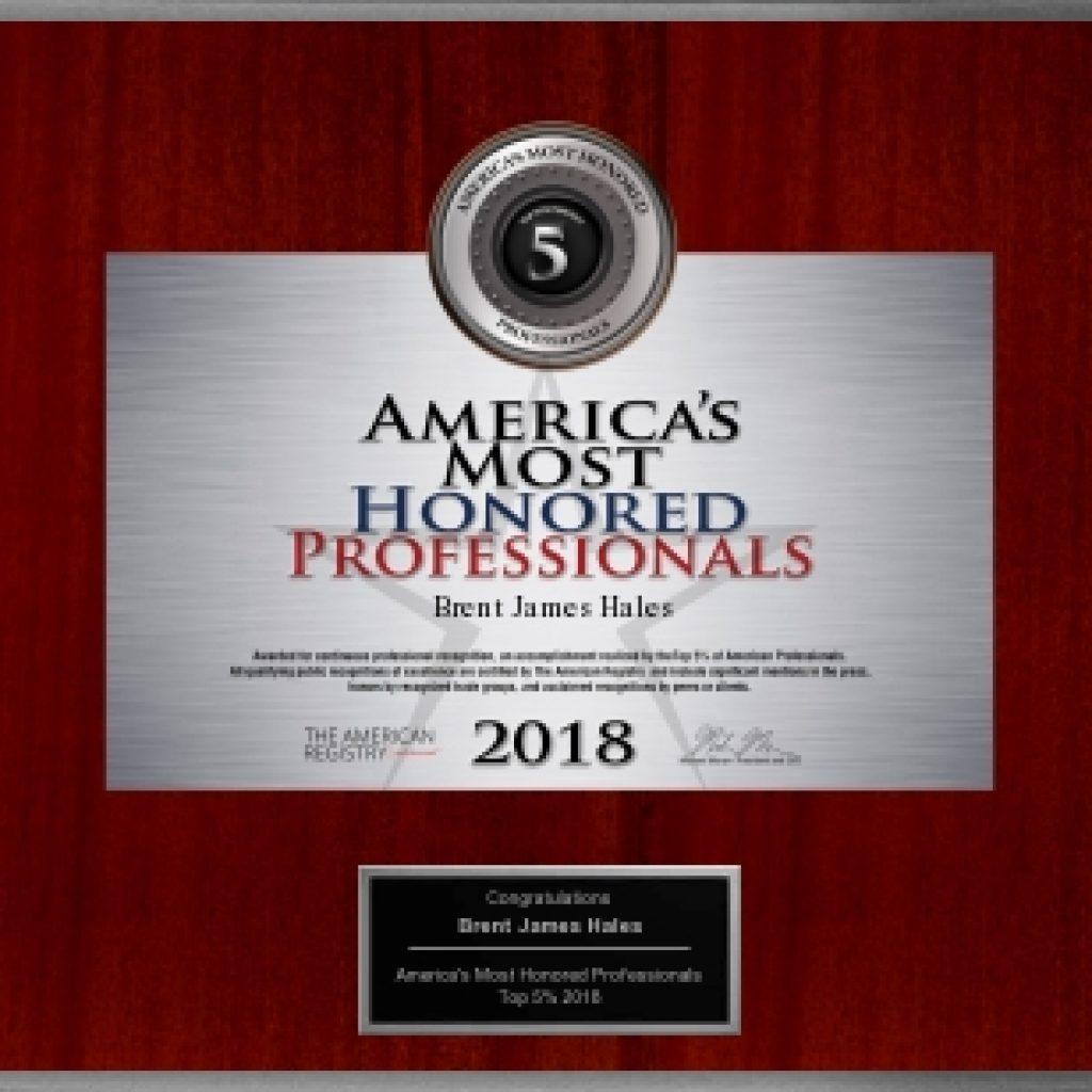 professional award