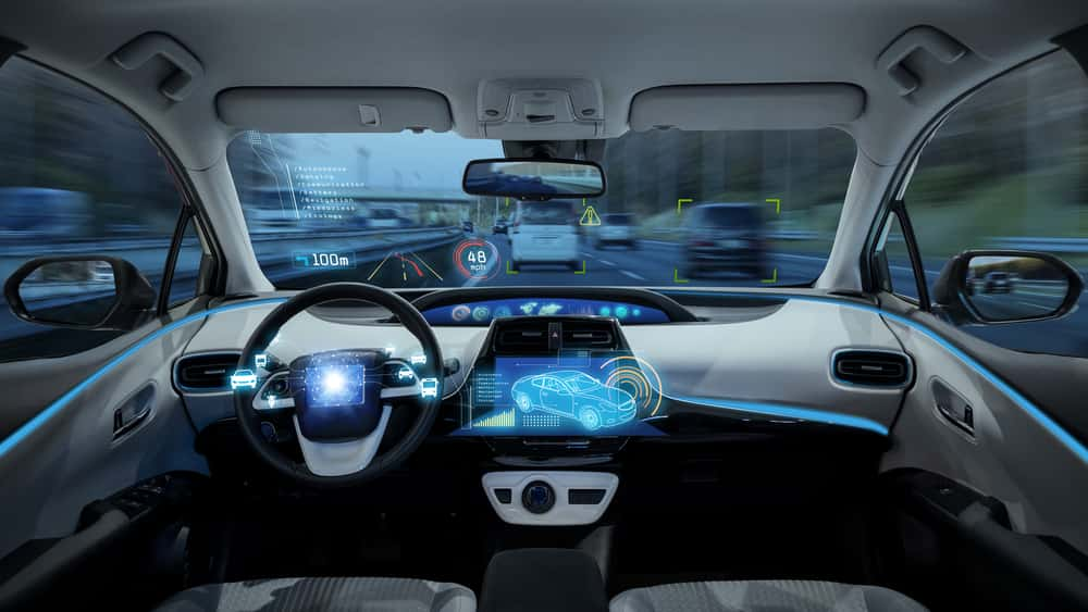 Image of a driverless car increasing safety in Temecula and Murrieta