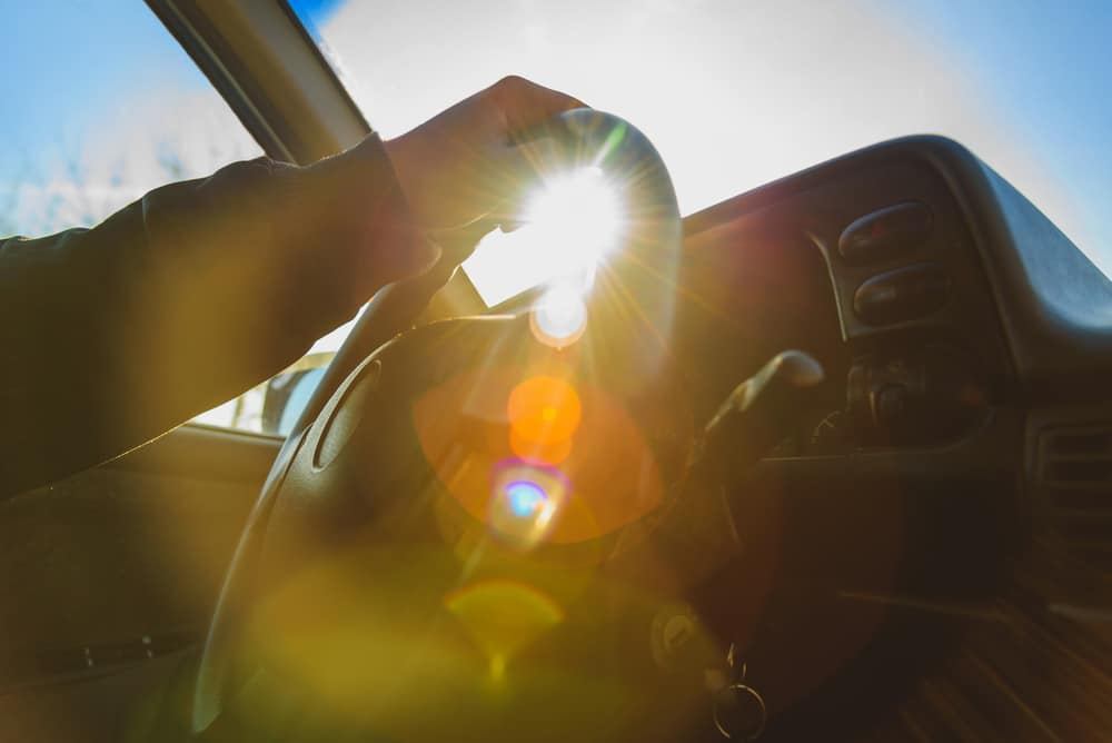 Does Sun Glare Release a Driver From Liability in California?