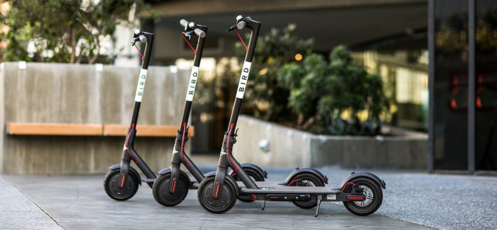 Scooter Companies Get Into Flame War